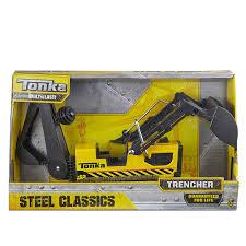 Amazon.com: Tonka Steel Trencher Vehicle: Toys & Games