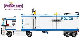 100 Lego Police Truck Mobile Unit City 60044 LEGO Juguetes Puppen Toys