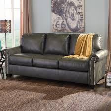 Broyhill Laramie Sofa Sleeper by Signature Design By Ashley Lottie Durablend Transitional Bonded