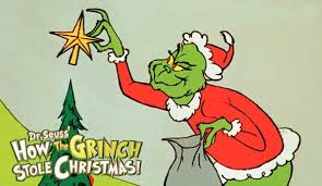 How The Grinch Stole Christmas Movie Poster 1966