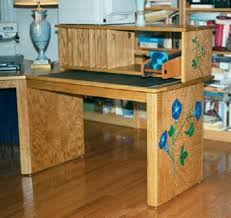 Woodworking Plans Computer Desk Free by Woodware Designs Low Stress Computer Furniture Plans