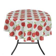 Rectangle Patio Tablecloth With Umbrella Hole by Tablecloths The Home Depot