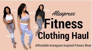 huge trendy aliexpress affordable instagram inspired fitness