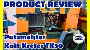 100 Concrete Pump Truck For Sale Putzmeister Concrete Pump TK50 Test Pumping Sale YouTube