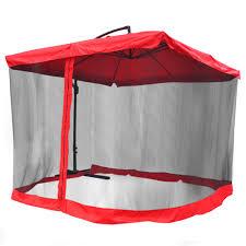 Mosquito Netting For Patio Umbrella Black by Mesh Patio Umbrella Home Design Ideas And Pictures