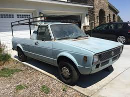 1980 Volkswagen Rabbit Manual Pickup Truck For Sale Inland Empire, CA