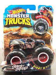 Hot Wheels STARS & STRIPES Monster Trucks 6/16 NEW 2018 Die Cast 1 ...