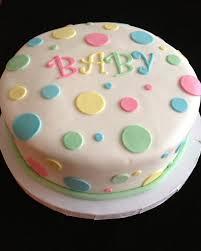 Easy Baby Shower Cake Ideas