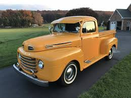 1950 Ford F100 For Sale #2042607 - Hemmings Motor News | Classic ... Jeff Davis Built This Super 1950 Ford F1 Pickup In His Home Shop Truck With An Audi Rs6 Powertrain Engine Swap Depot 1950s Ford For Sale Ozdereinfo The Color Urbanresultvehicle Pinterest Farm New Of 36 Craigslist Stock Drop Dead Customs My F1 4x4 Wheels And Trucks Review Rolling The Og Fseries Motor Trend Canada 1948 1949 Ford Truck Cabover Glass Classic Auto New Pickup Sri Bad Ass Street Car Spotlight Drag Youtube