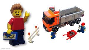 100 Lego City Dump Truck LEGO 4434 Retired Set Review YouTube