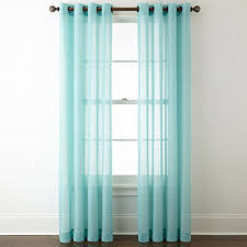 Priscilla Curtains With Attached Valance by Sheer Curtains Panels U0026 Window Sheers Jcpenney