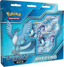 Pokemon Tcg Deck List Sheet by Legendary Battle Deck Articuno Pokemon Sealed Products