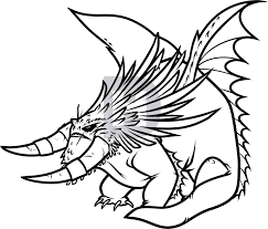 Description Color In Your Drawing Of Bewilderbeast Then Show Folks What You Did And See If They Know Who This Dragon Is