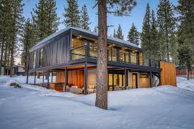 104 Container Homes House In Tahoe Lists For Sale As Mountain Modularity Takes Off