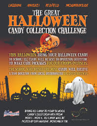 Operation Gratitude Halloween Candy 2014 by October 2013 Redfield Pto