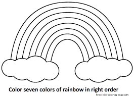 Seven Rainbow Colors