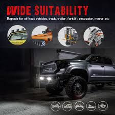 Top 10 Best Off-road & Truck Driving Lights Fog Lamp For Brightest ... 4x 4inch Led Lights Pods Reverse Driving Work Lamp Flood Truck Jeep Lighting Eaging 12 Volt Ebay Dicn 1 Pair 5in 45w Led Floodlights For Offroad China Side Spot Light 5000 Lumen 4d Pod Combo Lights Fog Atv Offroad 3 X 4 Race Beam Kc Hilites 2 Cseries C2 Backup System 519 20 468w Bar Quad Row Offroad Utv Free Shipping 10w Cree Work Light Floodlight 200w Spotlight Outdoor Landscape Sucool 2pcs One Pack Inch Square 48w Led Work Light Off Road Amazoncom Ledkingdomus 4x 27w Pod