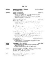 Quora Internship Resume Sample
