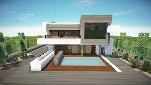 100 Modern Houses Blueprints Cool Minecraft Unique Cool Sensational