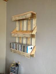Bookshelf Out Of Pallets With Regard To Shelves Made Regarding Motivate
