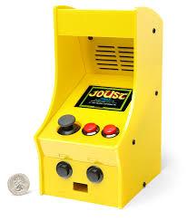 Mini Arcade Cabinet Kit Uk by Diy Mini Arcade Cabinet Thinkgeek