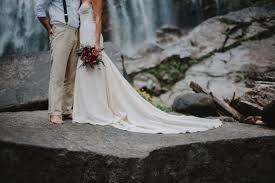 Rustic Mermaid Wedding Gown Boho Cotton Lace Hemp Silk Dress