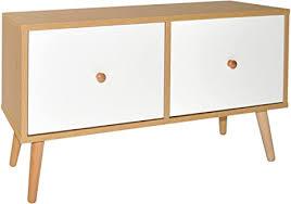 ts ideen tv bank mit weißen schubladen lowboard sideboard kommode hifi schrank regal flur diele wohnzimmer design