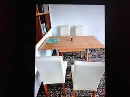 details zu 4 stühle vom dänischen bettenlager für esszimmer