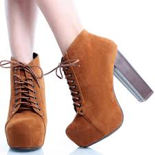 heeled brown ankle boots yu boots