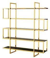 casa padrino luxus regalschrank gold 160 x 42 x h 180 cm designer hotel möbel