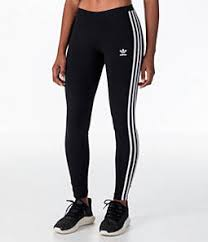 Womens Adidas Originals Trefoil 3 Stripes Leggings