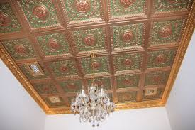 White Tin Ceiling Tiles Home Depot by Ceiling Wonderful Antique Copper Faux Tin Ceiling Tiles For