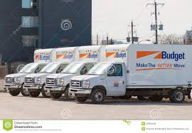 100 Moving Truck Rental Company Budget Editorial Stock Image Image Of