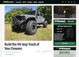 Gear Junkie - Build The V8 Jeep Truck Of Your Dreams | Bruiser ... Jeep Truck Starts Undressing Possibly Unveils Price Before 2019 Out With The Old Wrangler Last Jk Rolls Off Assembly Line To Make 2018 Confirmed Spawn Crew Cab Pickup Starwood Motors The Bandit 4 Door Cversion Now And Customizing Willowbrook Chrysler Langley Jeeptruck Winch Buyers Guide Superwinch Rendered For 100 Is This Custom 1994 Cherokee A Good Sport Awesome Rubicon Chevrolet Car Unwrapping News Ledge Scrambler Could Debut In Los Angeles Carscoops Jeeps Head Of Design Built Himself Best Ever Outside Online