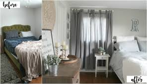 Ikea Lenda Curtains Red by Bedroom Makeover