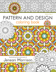 Botanical Garden Adult Coloring Book With Relaxation CD Color Pattern And Design Volume 1 Jenean Morrison Art