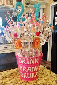 16th Birthday Gift Ideas Sensational 21st Alcohol Bouquet I Made For