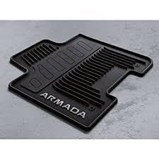 amazon com 2017 nissan armada all weather floor mats t99e1