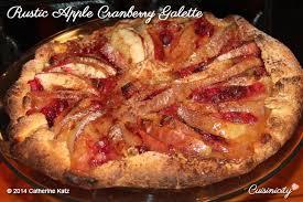 Rustic Apple Cranberry Galette