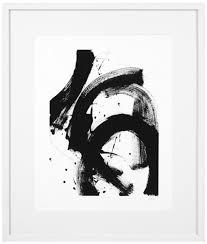 casa padrino luxus bild design i schwarz weiß 85 x h 100 cm kunstdruck mit holzrahmen