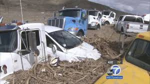 10-mile Stretch Of Vehicles Stuck On State Route 58 In Tehachapi ... Trophy Truck Archives My Life At Speed Baker California Wreck 727 Youtube Lost Boy Memoirs Adventure Travel And Ss Off Road Magazine January 2017 By Issuu The Juggernaut Does Plaster City Mojave Desert Offroad Race Crash 3658 Million Settlement Broken Fire Truck Stock Photos Images Alamy Car On Landscape Semi Carrying Pigs Rolls In Gorge St George News Head Collision Kills One On Hwy 18