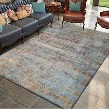 skandinavischen minimalistischen teppich blau braun rosa