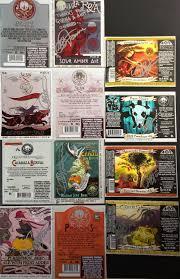 Jolly Pumpkin La Roja by Daily Beer Review Jolly Pumpkin Labels Signed By Artist Adam