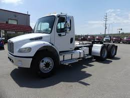 100 Day Cab Trucks For Sale 2003 Freightliner M2 100 Tandem Axle Truck