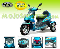 3 Wheel Scooters Trikes For Sale At MoJo Gas And