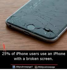 25% of iPhone Users Use an iPhone With a Broken Screen