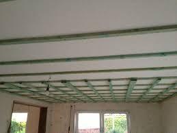 decke abhängen mit dachlatten gipskarton so wird es