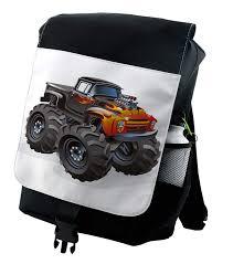 100 Monster Truck Backpack Amazoncom Lunarable Nursery In Flame