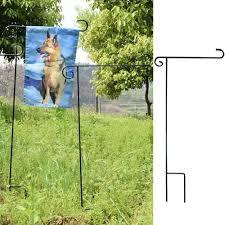 Flagpole Christmas Tree Plans by Amazoncom New Creative Black Arc Garden Flag Pole Outdoor Wood