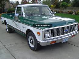 100 72 Chevy Trucks Truck 79k Survivir 402 Big Block 19 Chevrolet Pickup